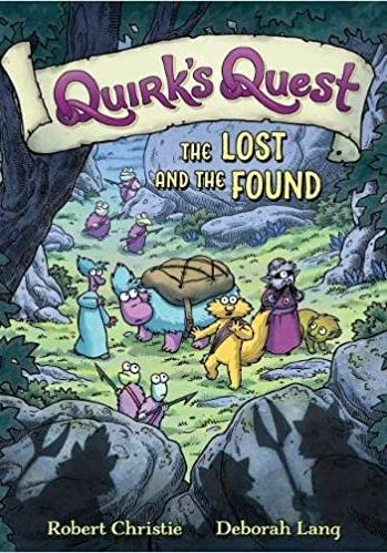 Cover image of The lost and the found,