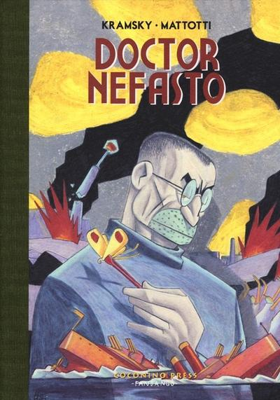 Cover image of Doctor Nefasto, color