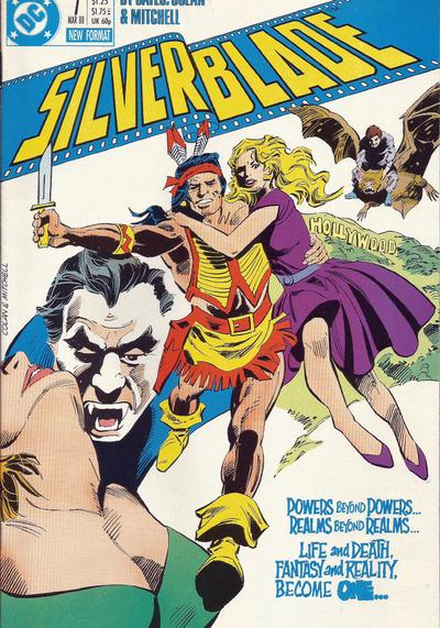 Cover image of Silverblade #7, color